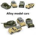 $2.99 promociones especiales, militar de aleación de coche, aleación modelo de coche, tanques, jeeps, suv, funde automóviles de Juguete, envío libre