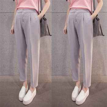 Women High Waist Pencil Pant 2018 Ladies Girl plus size Ankle Length Pants trousers joggers streetwear Krean Style