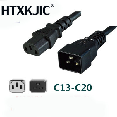 1.8M C13 C20 Power Cord Server UPS Power Cable C19 Female to C20 Male 16A/250V power supply cord 3X1.5mm square Power Wire