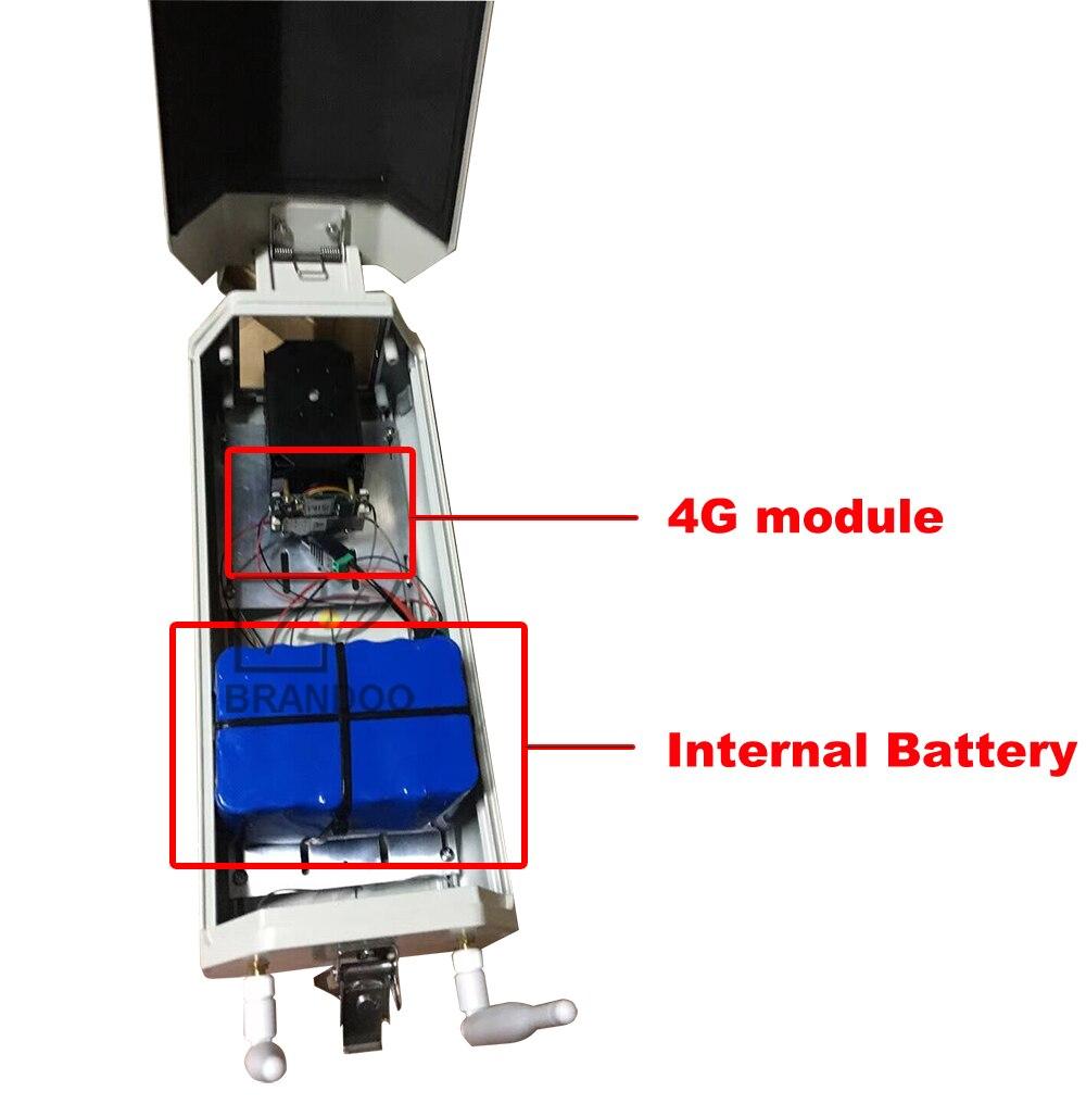 4G camera and internal battery