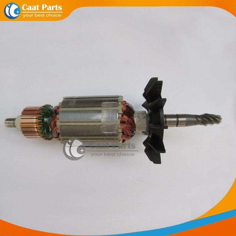 Livraison gratuite! Ac 220 V Drive Shaft électrique induit Rotor pour Makita jr3000v, De haute qualité