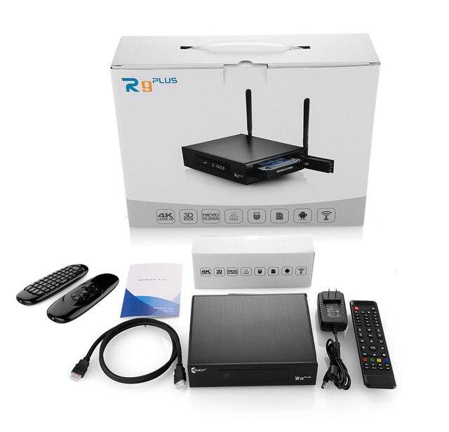 Eweat r9 plus tv box android 6.0 + openwrt (nas) Realtek RTD1295 2G/16G 802.11ac WIFI Bluetooth 1000 Mt Media Player mit Air maus