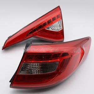 Image 5 - 1pcs 2015~2017year tail light for Hyundai sonata  taillight car accessories LED DRL Taillamp for sonata fog light