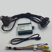 Plug and Play Reverse Assist System Rear View Camera Interface Car Video Interface Adapter For Mercedes C Class W205 Accessories
