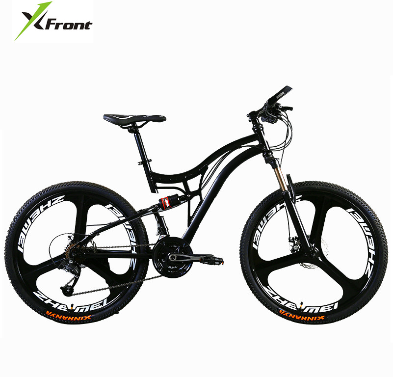 Original X-Front brand 21 24 27 speed 26'' color one wheel damping mountain downhill bike mtb bicicleta disc brake bicycle