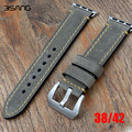 Genuine Assolutamente Leather Watch Strap Handmade Padded Band Bracelet for Iwatch Apple Watch band 38mm 42mm