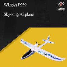 WLtoys F959 السماء الملك 2.4G 3CH الجناح RTF RC طائرة راديو التحكم عن بعد الطائرات الثابتة الجناح ألعاب الطائرة بدون طيار الاطفال هدية