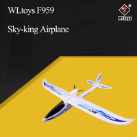 WLtoys F959 Sky king 2.4G 3CH Wingspan RTF RC Airplane Radio Remote Control Aircraft Fixed Wing Plane Toys Drone kids Gift