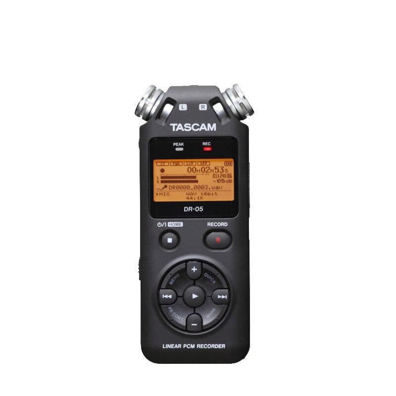 Tascam Dr-05 Professionelle Stimme Recorder Dr05 Schwarz Farbe Digitale Aufzeichnung Stift Unterhaltungselektronik