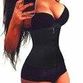 Mujeres Cintura Trainer con Cremallera Largo Torso Hot Body Shapers Tummy Faja de Cintura Trainer Waistband Slimmming Señoras de La Correa Faja