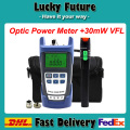 Fiber Optic Tool Kit 30MW VFL Fiber Optic Visual Fault Locator And -70~+10bdm Fiber Optic Laser Power Meter