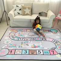 Game Carpet living room Kids Gym Rug Play Game Mat Baby Toy Pouch Storage Organizer Baby Crawl Blanket Outdoor Pad Carpets