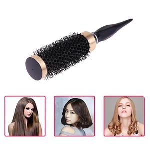 Image 2 - Profesjonalna szczotka do włosów grzebień Salon okrągła szczotka do włosów kręcenie włosów grzebień fryzjerstwo żaroodporne szczotki do włosów stylizacja akcesoria