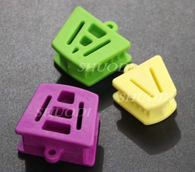 3 piezas Dental Autoclavable productos bandeja de impresión boca Prop Gag (3 tamaños para la selección) bandeja de dientes Autoclavable de 121 grados