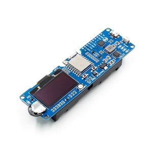 Image 2 - DSTIKE WiFi Deauther OLED V5 WiFi Attack/Control/Test tool ESP8266 1.3OLED 8dB Antenna 18650 battery charger