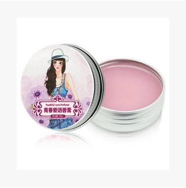 Youth love language ointment ms solid perfume lasting fragrant in the hot chinese brand normal specifications