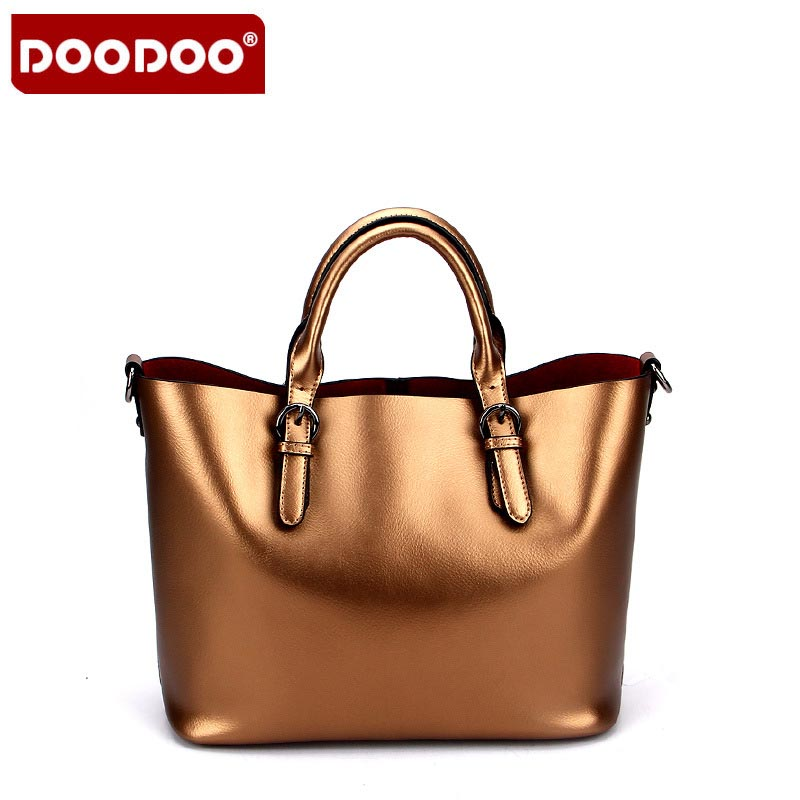 Large Capacity Genuine Leather Handbags Women Bags Shoulder Bag Casual Tote Bags Female Famous Brands Luxury Shoulder Bag 2/Pcs luxury famous brand women female ladies casual bags leather hello kitty handbags shoulder tote bag bolsas femininas couro