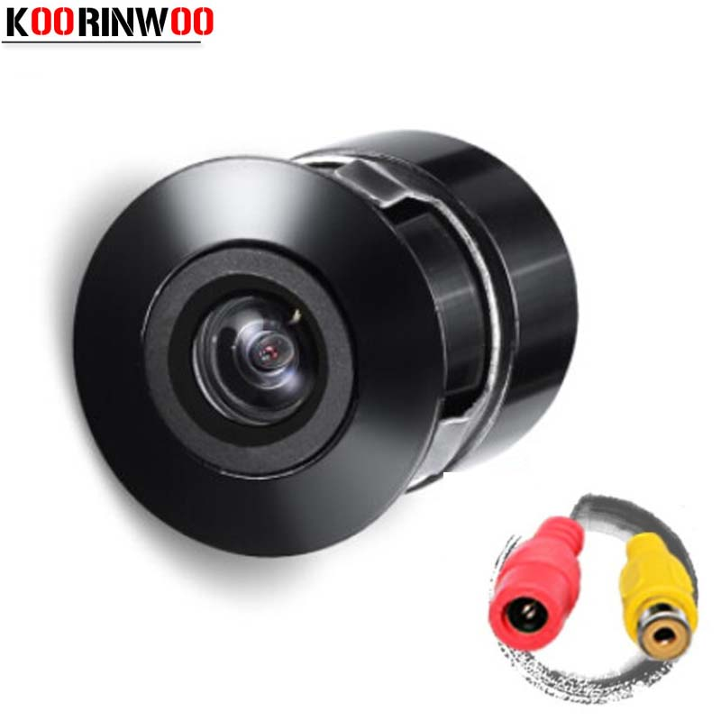Koorinwoo New Anti-Fog Vehicle Backup Car Front Rear View Parking Camera HD CCD Night Vision Parking Camera Waterproof IP68