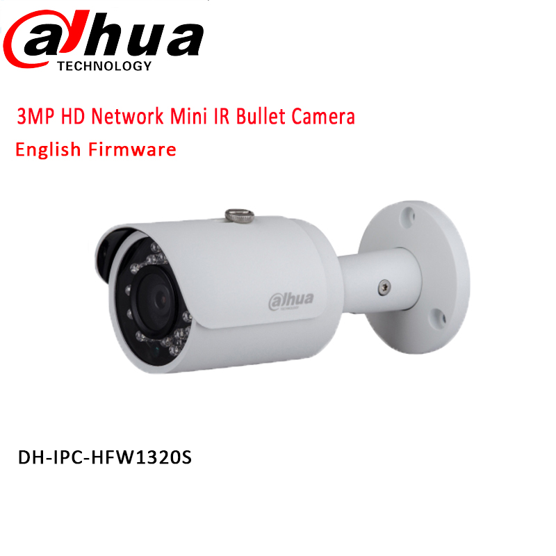 original DAHUA 3MP Network IR 30M Bullet font b Camera b font 1080P Waterproof outdoor IP