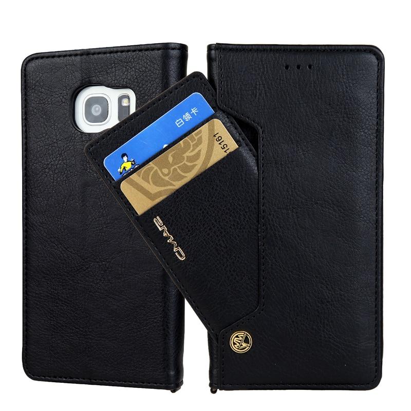 10 Pcs la sfor Samsung Galaxy Note 8 Cas Galaxy S8 Plus S7 bord Couverture Cas Téléphone Portefeuille En Cuir Flip Magnétique Stand Coque Fundas
