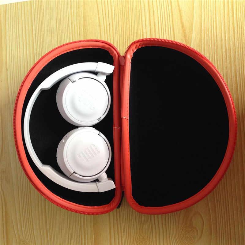 Caja de almacenamiento de auriculares portátil JBL, caja de auriculares, accesorios de auriculares de alta calidad, bolsa de auriculares inalámbricos con cable, cajas de auriculares