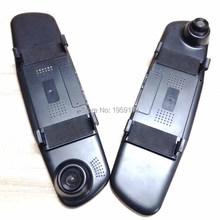 Smart Car DVRS Rear View Mirror DVR font b Dashcam b font 720P Video Registrator With