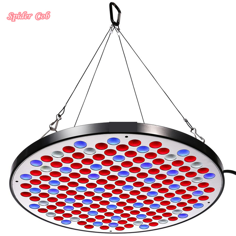 50W UFO LED Grow Light Panel 0.3W SMD Super Bright LEDs Full Spectrum with Switch for Indoor Plants Growing and flowering Light