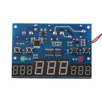 9 99C DC 12V Intelligent Digital Display Thermostat Temperature Controller Heat Cool Temp Thermometer NTC