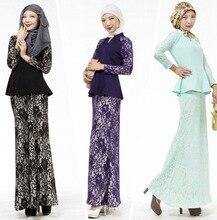 New Muslim abaya Islamic clothing for women muslim hijab long dress turkish traditional black abaya dress