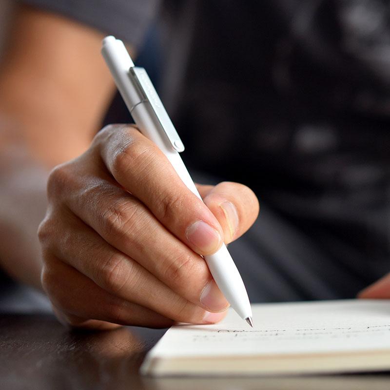 6 pcs lote jinghao kaco midot serie bonito caneta gel de papelaria caneta esferografica escrita macia