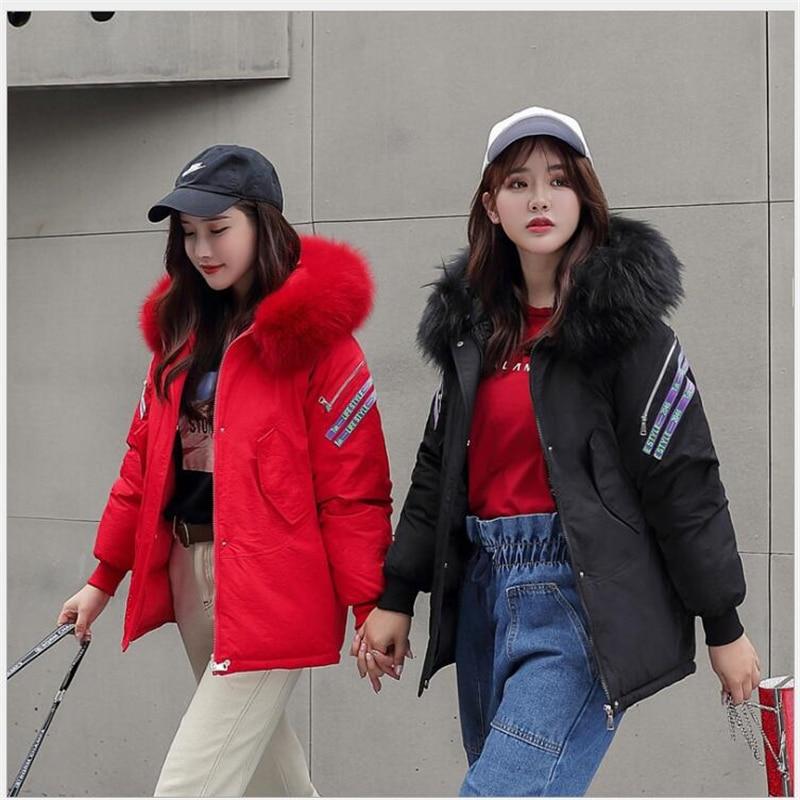 Winter Jacket Women 2019 New Fashion Slim Female Winter Coat Thicken women   Parka   Cotton Mujer abrigo de invierno Clothing 211