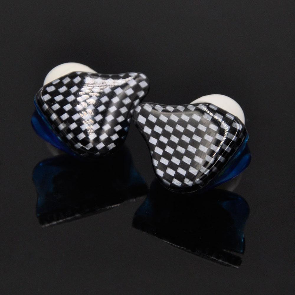 New AK Checker Earphone DIY Hifi Custom Made 4Units 2BA+2DD  In-Ear Earbuds Bass Around Ear Stereo MMCX Headset 2016 senfer ue custom made around ear earphone hifi monitor earphone bass headset with mmcx interface cable as se215 ue900 se846