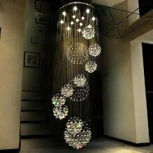 Современные хрустальные люстры осветительные приборы большие