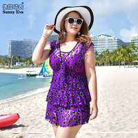 Sunny Eva Swimsuit Woman One Piece Bathing Suit Sports Large Swimwear Large Sizes Beachwear For Women