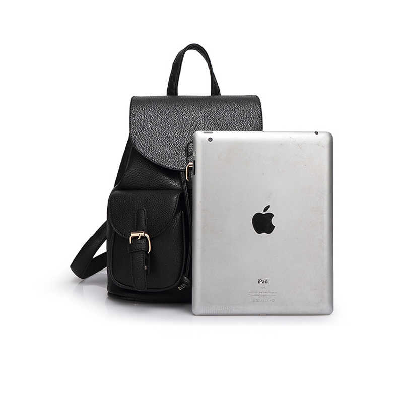 78630f2f40f6 ... 2019 Fashion PU Leather Women Backpack Luxury Brand Shoulder Bags For  Teenage Girls School Bag mochila
