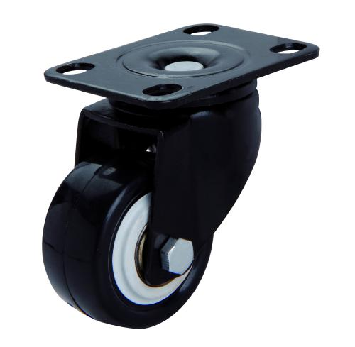 1inch 2 rubber caster wheels mute round furniture wheel for 2 furniture casters