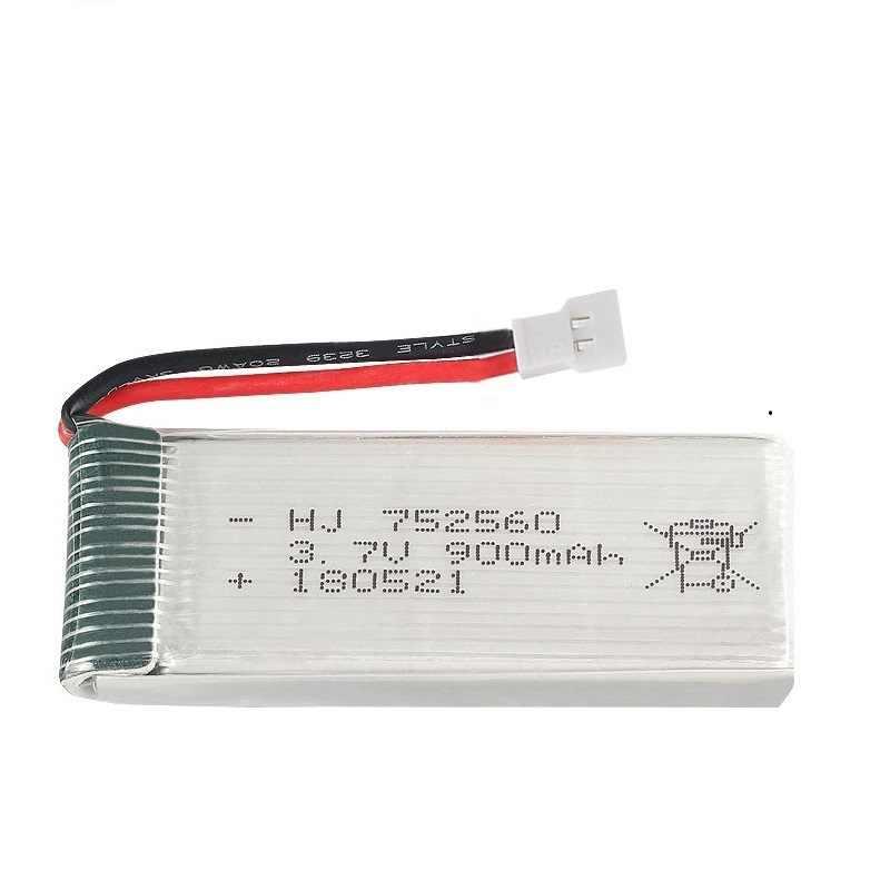 900mah 3,7 V cargador de batería lipo para Syma X5 X5C X5SC X5SW 8807 8807W A6 A6W M68 recambios de cuadrirrotor Rc accesorios Drones