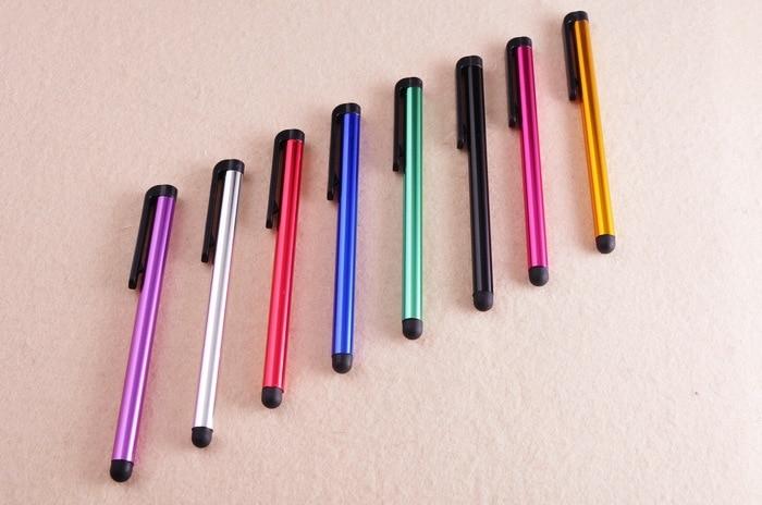 1000 Stücke Freeshipping Universal Metall Touchscreen Stylus Stift Für Ipad Iphone Smartphone Tablet