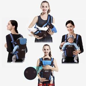 Image 2 - Слинг для малышей от 0 до 30 месяцев, дышащий, передняя сторона, переноска для детей 4 в 1, удобный рюкзак для младенцев, сумка кенгуру, детский ремень