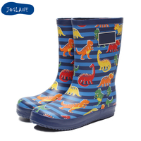 JOGLANE Baby Rain Boots 2019 New Arrival Children Boys Girls Cartoon Cute Design Rain Boots Kids Baby Birthday Gift Choice Shoe