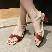 Bow-knot Womens Sandals Summer 2019 High Heels Sexy Ladies Elegant Classics Strappy Cute For Women