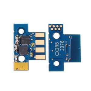 Image 4 - 1 set 8K EU 80C2XK0 80C2XC0 80C2XM0 80C2XY0 chip for Lexmark CX510 CX510de CX510dhe CX510dthe laser printer toner cartridge