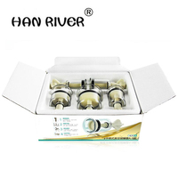 HANRIVER High Quality Cupping Apparatus Hand Screw Rotary 5 Cans More Household Vacuum Cupping Body Massager