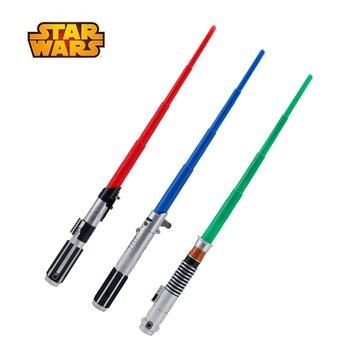75cm Star Wars estirable sable de luz Darth Vader Anakin Luke Skywalker colección figura de acción para regalo juguete para los niños No hay luz