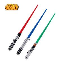 75cm gwiezdne wojny rozciągliwy miecz świetlny Darth Vader Anakin Luke Skywalker kolekcja figurka prezent zabawka dla dzieci bez światła