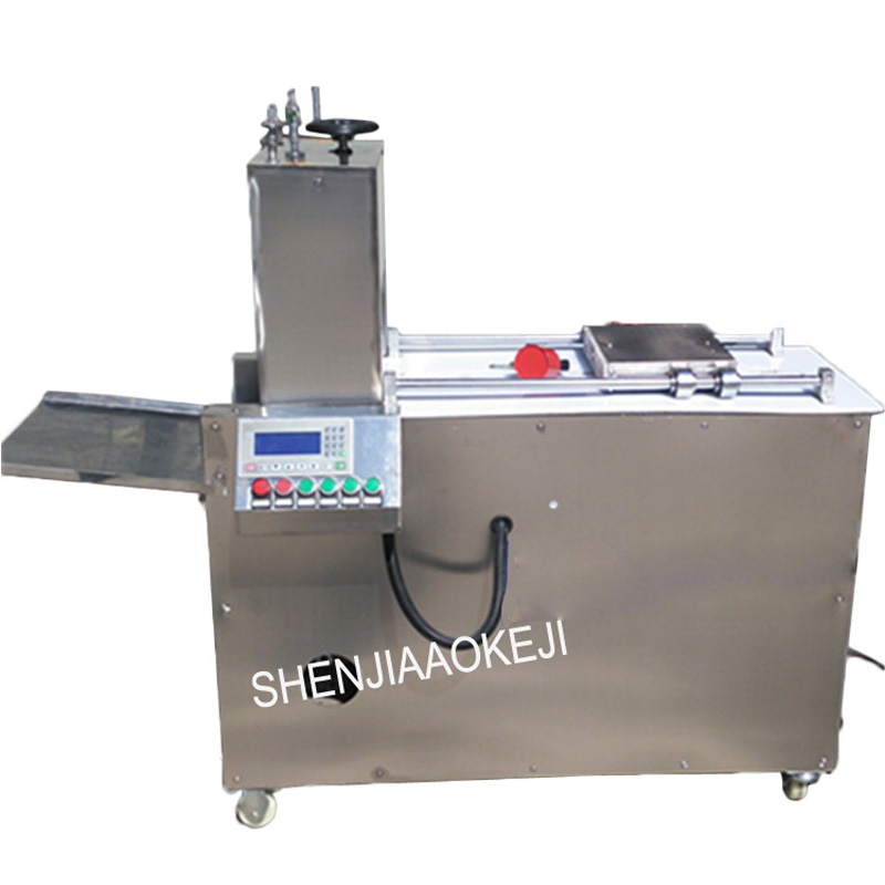 TZ-A2 mutton full automatic meat slicer steak cutting machine beef Frozen meat lamb beef cutting machine 220V 1PC