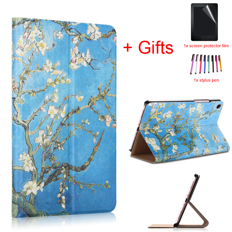 PU Leather Cover Case for Xiaomi Mi Pad 4 MiPad4 8 inch Tablet Smart Wake/Sleep Magnet Protective Flip Funda Case +Film+PenPU Leather Cover Case for Xiaomi Mi Pad 4 MiPad4 8 inch Tablet Smart Wake/Sleep Magnet Protective Flip Funda Case +Film+Pen