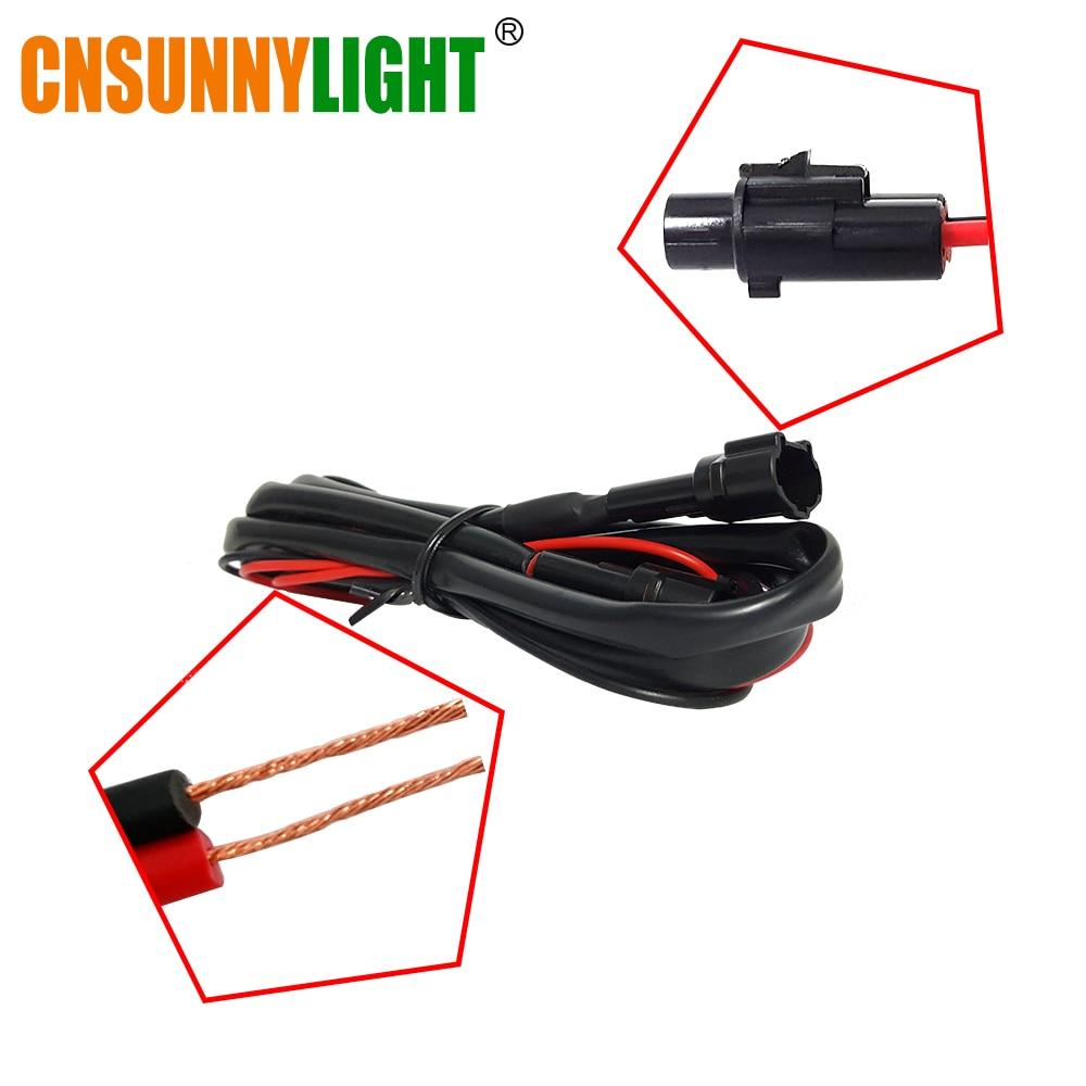 CNSUNNYLIGT LED Daytime Running Light Waterproof Universal DRL Kit Led Auto Driving Work Light External Fog Lamp 6000K 12V (6)