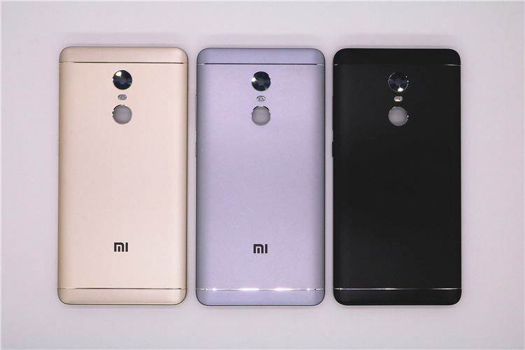 New Spare Parts <font><b>Back</b></font> Battery <font><b>Cover</b></font> For <font><b>Xiaomi</b></font> <font><b>Redmi</b></font> <font><b>Note</b></font> <font><b>4X</b></font> 32GB(Snapdragon 625) Side Buttons + Camera Flash Lens Replacement image