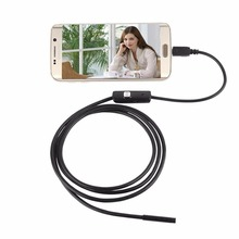 2M 7MM USB Borescope Android Endoscope Inspection LED Tube Video Camera Scope OTG USB Endoscoop Camera Borescope Endoscopio